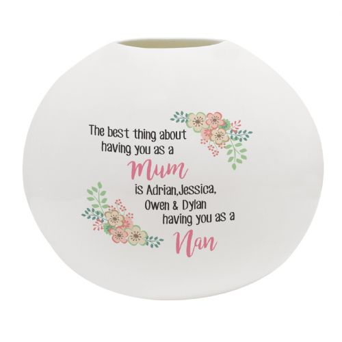 Personalised The Best Thing Bone china Vase